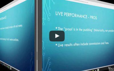 Evaluating Algorithmic Strategies Hypothetical vs Live Results