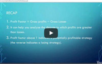 Algo IQ – Understanding Profit Factor