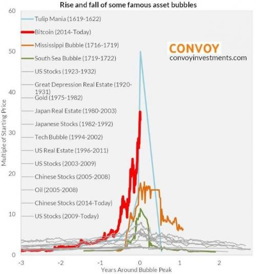 """Bitcoin Just Exceeded """"Tulip Mania"""" Levels"""